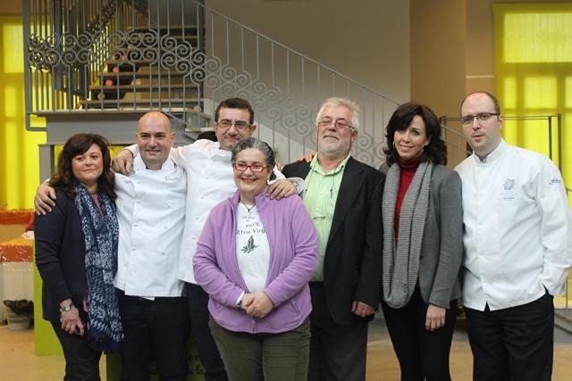 jurado concurso de cocina en vivo Priego