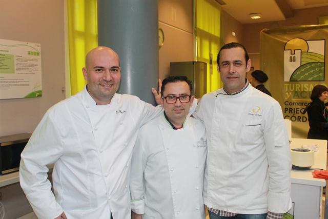 Jurado concurso de cocina Priego 2014